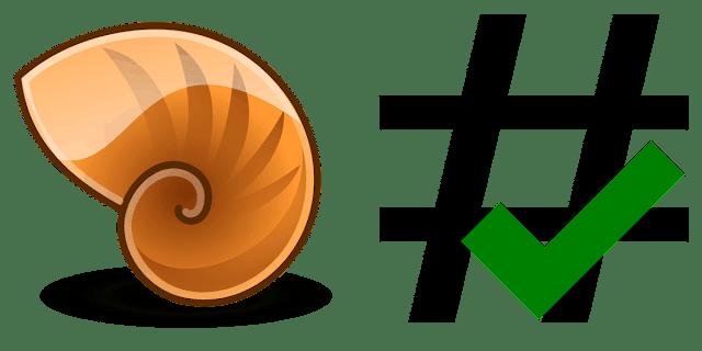 Como calcular el checksum de un archivo desde Nautilus. Logo.
