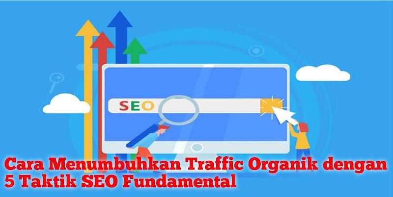 Cara Menumbuhkan Traffic Organik dengan 5 Taktik SEO Fundamental