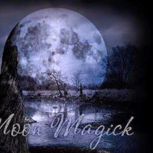 Full Moon Blessed Sabbat Water