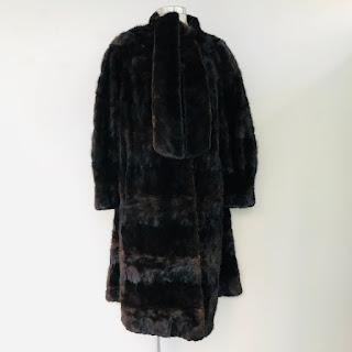 Mink Fur Christie Brothers Coat