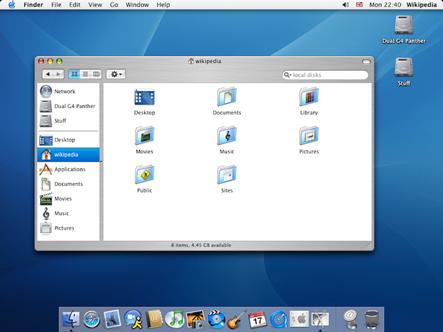 Mac OS X Panther