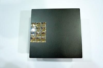裝潢五金品名:120-司華洛世奇水晶取手孔距:32m/m規格:100*100m/m型式:單顆或對組顏色:黑色玖品五金
