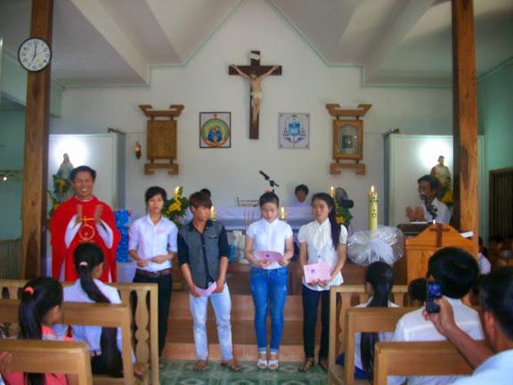 Giáo xứ Xuân Sơn bế giảng năm học Giáo lý 2013-2014