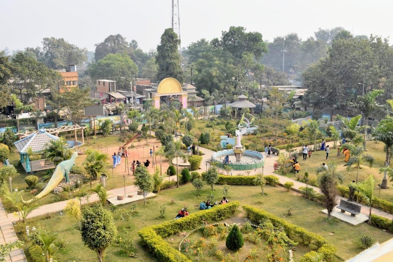 उत्साहित: आम लोगों के लिए दोबारा खुला जगदीशपुर का इको पार्क, पार्क में एंट्री करने से पहले पहनना होगा मास्क