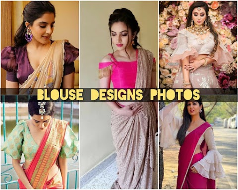 65+ Blouse Designs Photos That You Need Again and Again For Every Event |