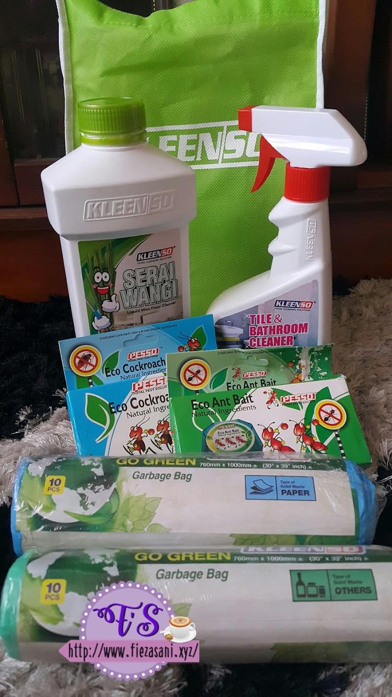 Kleenso Rangkaian Produk Pencuci Dan Menghapuskan Serangga Perosak