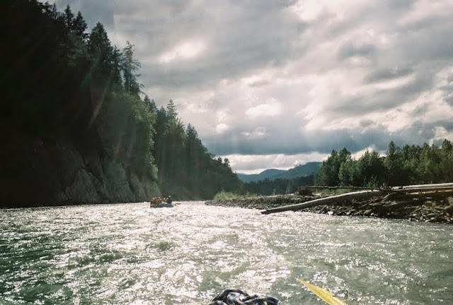 Rays of sun peak through the clouds on the Nooksack River / Credit: Bellingham Whatcom County Tourism