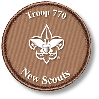Welcome New Scouts!