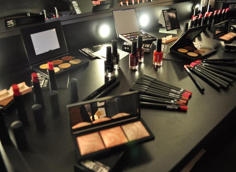 ale de souza - makeup - coleçao - oceane - maquiagem - workshop - jeisi costa - carolina brito