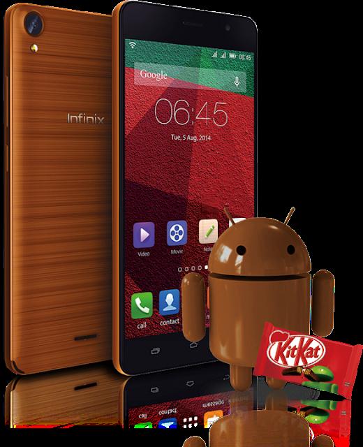 Infinix Hot Note X551 Dengan Android KitKat 4.4.2
