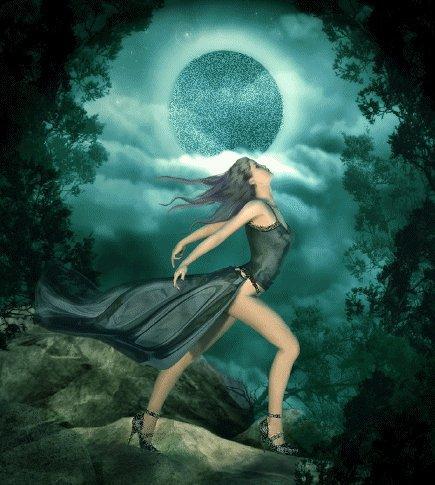 Moon In Magic Forest, Moon Magic