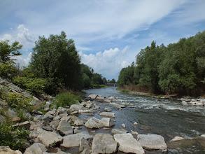 Photo: Pohled na řeku Ostravici nedaleko cyklotrasy č. 59 mezi Paskovem a Sviadnovem