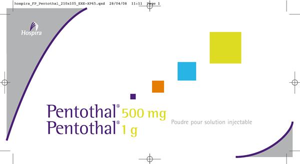 fiche posologique Hospira Pentothal -Sans Exception