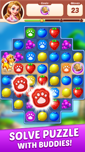 Fruit Genies - Match 3 Puzzle Games Offline apkslow screenshots 12