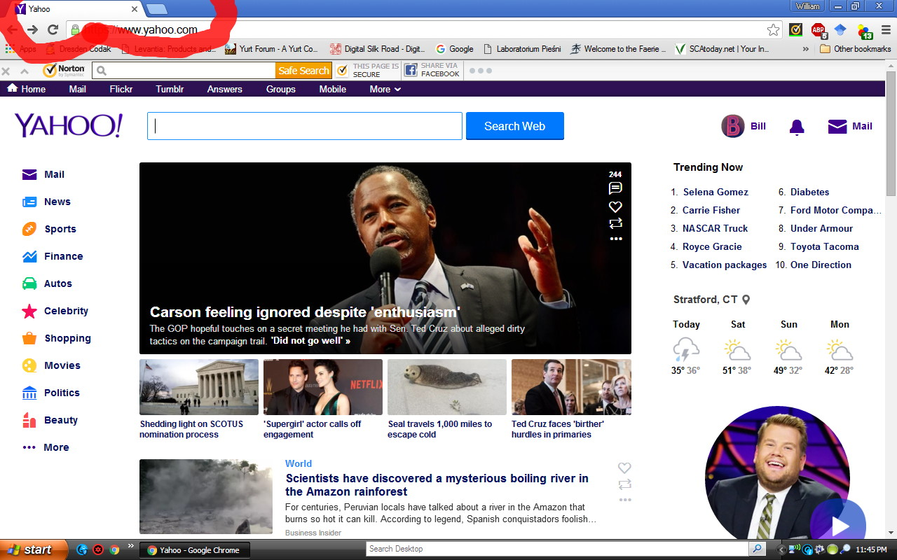 how to change my new tab homepage