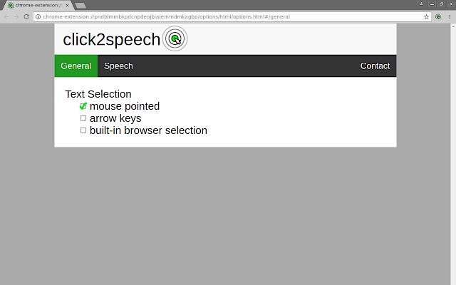 click2speech