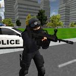 Urban Police Legend Icon