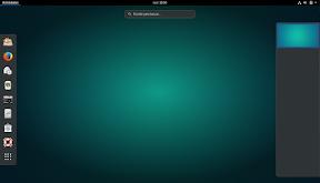Primeros pasos con GNOME Shell. Hacia la productividad. Primera pantalla.