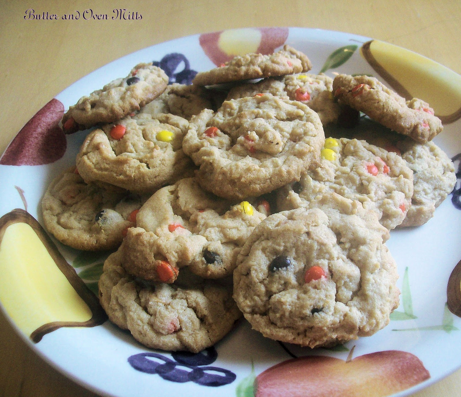 Butter and Oven Mitts: Triple Peanut Butter Cookies