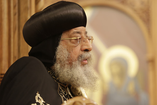 His Holiness Pope Tawadros II visit to St. Mark LA - _09A9167.JPG