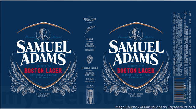 Samuel Adams Updating Boston Lager Cans