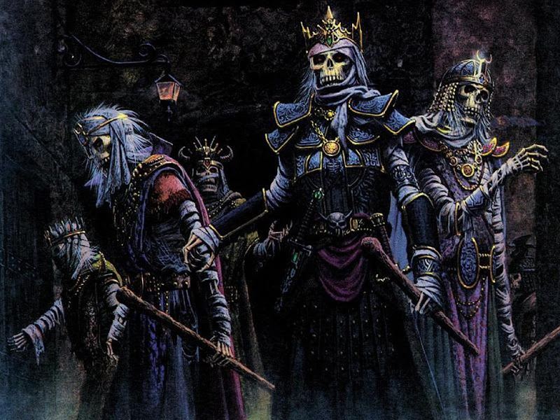 Army Of Undead, Warriors