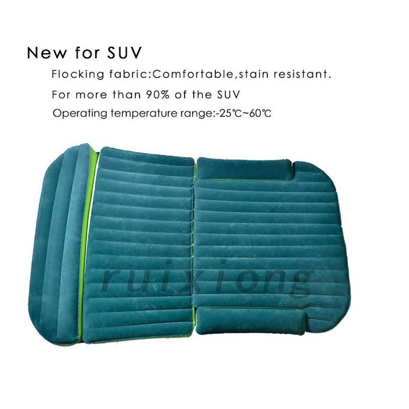 luftmatratze aufblasbare matratze f r r cksitz bett suv auto kissen 180 x 130cm ebay. Black Bedroom Furniture Sets. Home Design Ideas