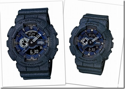 Casio G-SHOCK Baby-G Denim' D Color 02