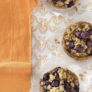Breakfast Blueberry-Oatmeal Cakes.
