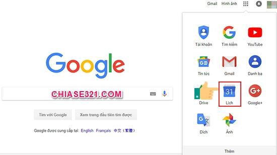 cách thêm lời nhắc vào Lịch Google
