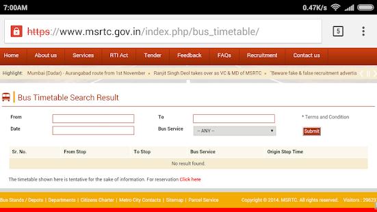 Book MSRTC Online Ticket - AppRecs