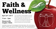 Faith and Wellness Event Webpage