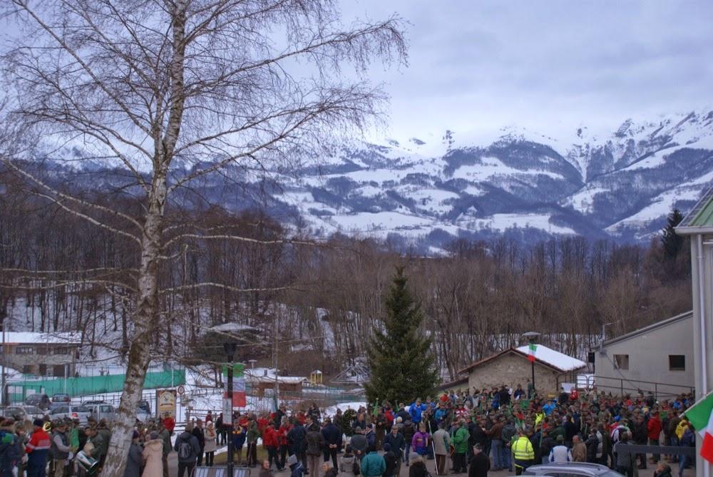 Campionato Nazionale ANA sci di fondo Piani di Bobbio - Campionati%2BNazionali%2BANA%2BBarzio%2Bapertura%2B4.JPG