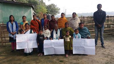 Dream building, self assessment and action plan at Bajitpara, Bongaigaon