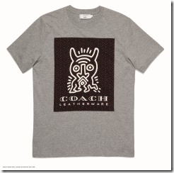 Coach x Keith Haring T-Shirt in Heather Grey (29623)