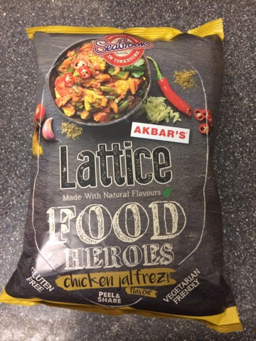 A Review A Day Todays Review Seabrook Lattice Food Heroes