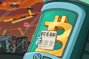 Bitcoin is dead