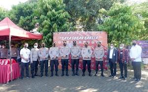 Akpol 1998 Sukses Gelar Vaksinasi Covid-19 di SMKN 2 Makassar