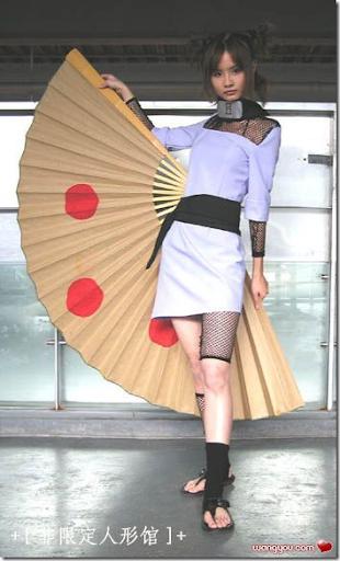 naruto cosplay - temari