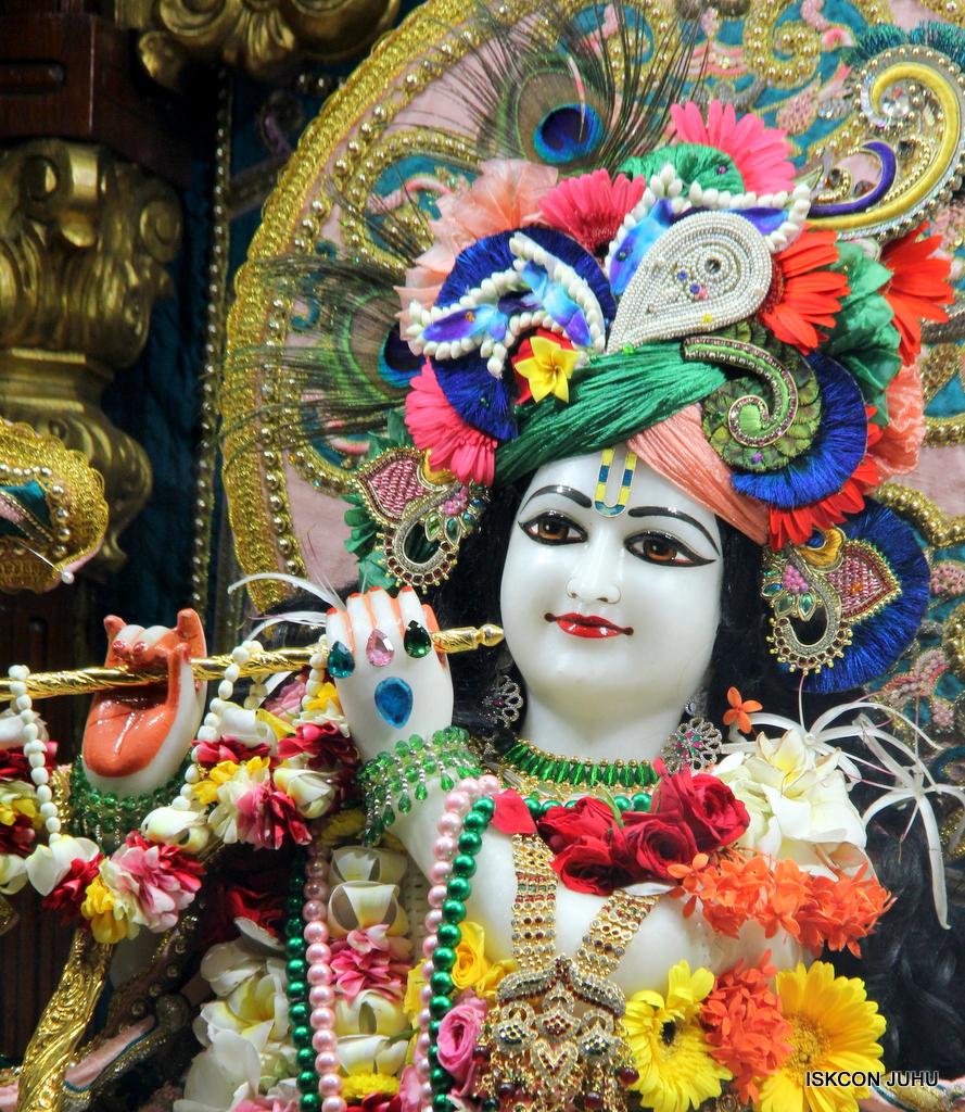 ISKCON Juhu Sringar Deity Darshan on 25th Oct 2016 (19)