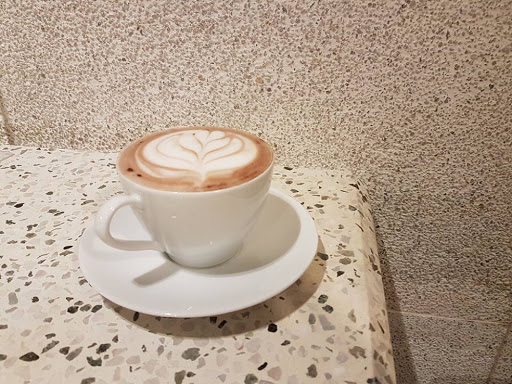 Hot chocolate from Gallery & Co at National Gallery Singapore