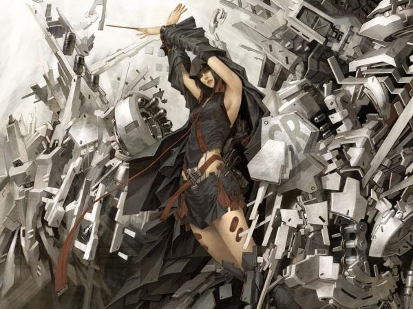 Wondrous Burner From Underworld, Warrior Girls 1