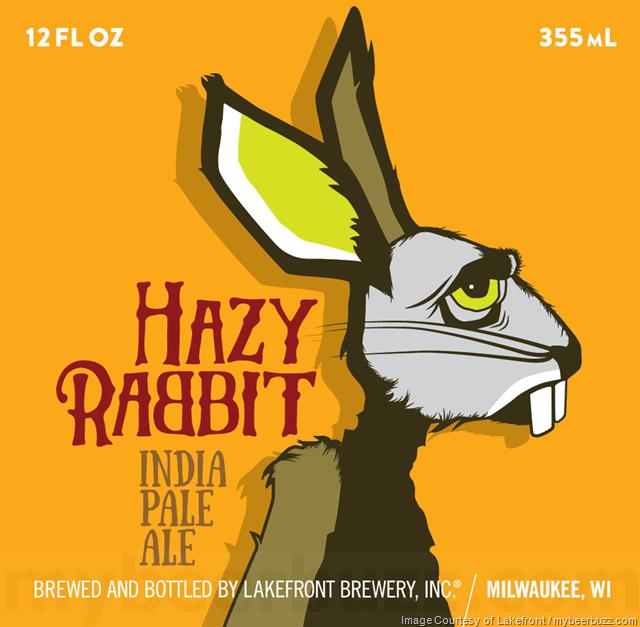 Lakefront Adding Hazy Rabbit IPA