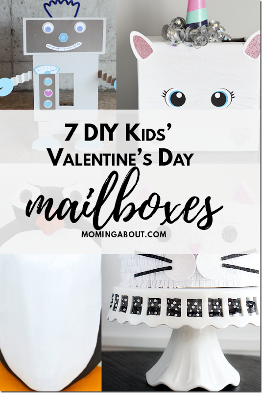 DIY Kids Valentine Mailboxes