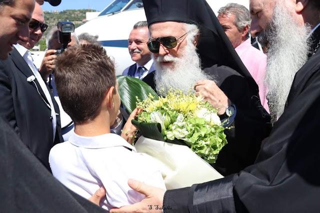Στην Κεφαλονιά ο Αρχιεπίσκοπος Αλβανίας Αναστάσιος