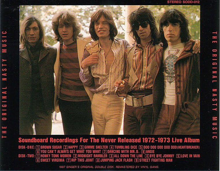 The Rolling Stones - Nasty Music, The Never Released 1972