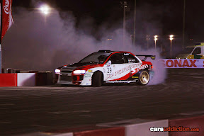 Walton Smith drifting the Jap Performance Impreza