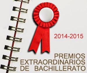 Premios Extraordinarios de Bachillerato 2015