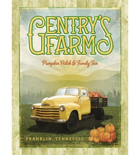 Gentrys farm poster 2