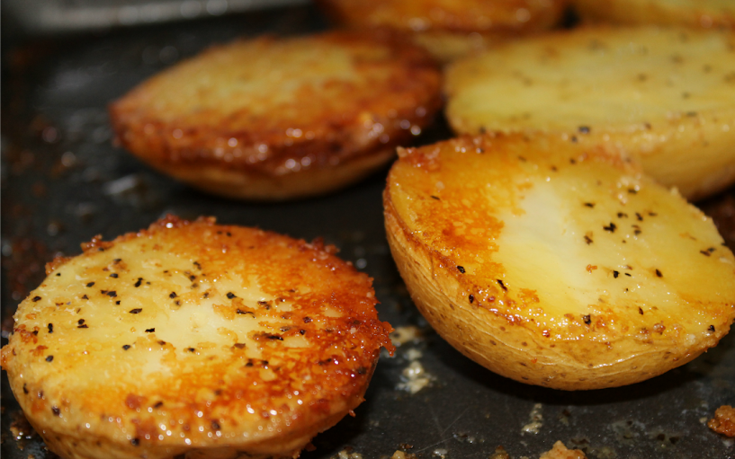 Crispy Parmesan Potatoes Recipe